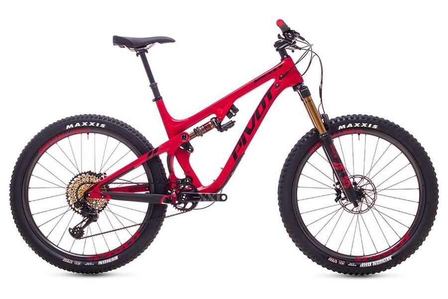 Pivot Mach 5.5 Full Suspension Mountain Bikes
