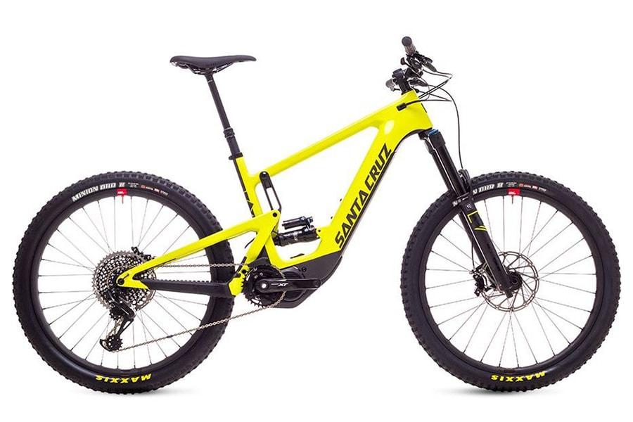 Santa Cruz Heckler Electric Mountain Bikes