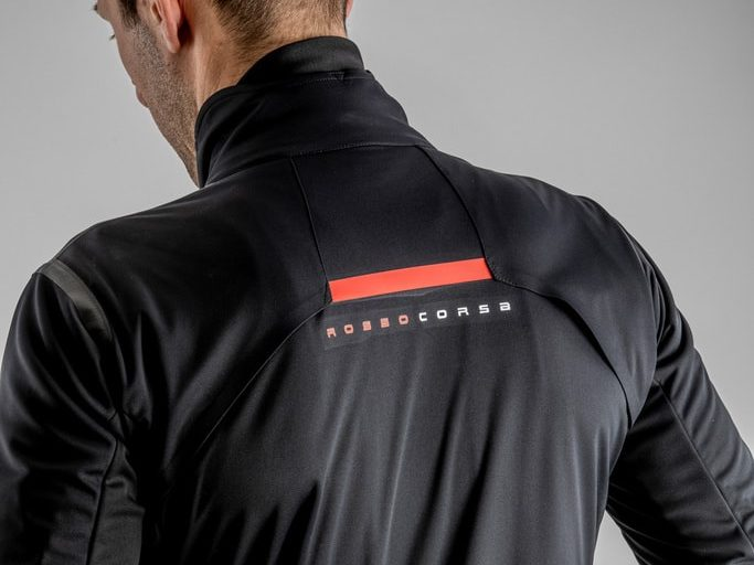 Castelli Alpha ROS 2 Jacket Black Back View