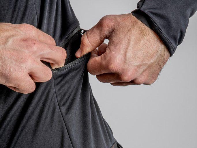 Castelli Alpha ROS 2 Jacket Black Side Pocket