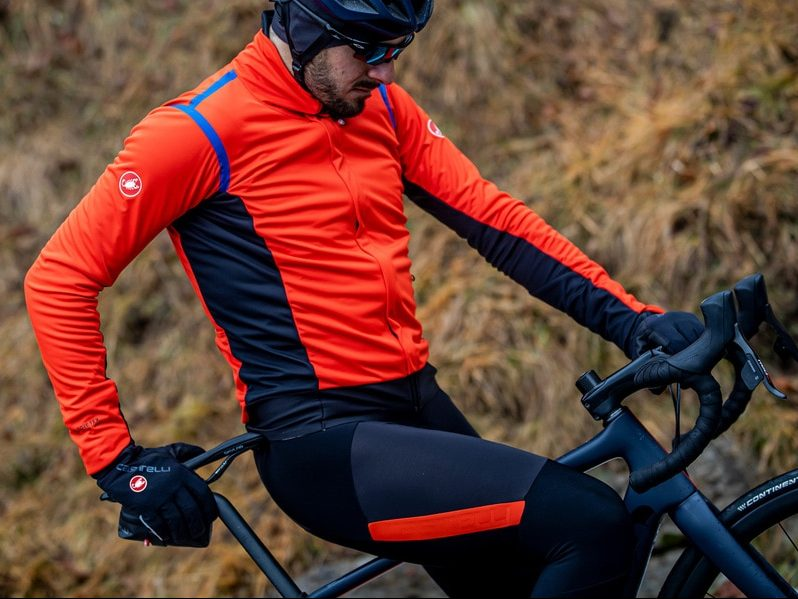 Castelli Alpha ROS 2 Jacket Red