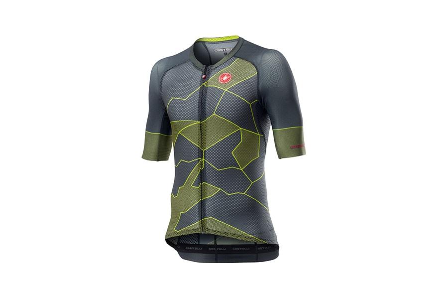 Castelli Climber's 3.0 Jerseys Dark Grey Yellow