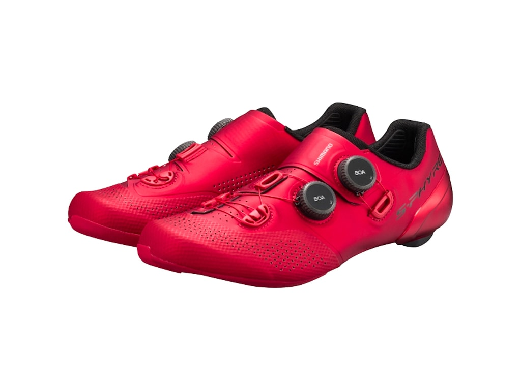 Shimano S-Phyre RC902 Red Shoes