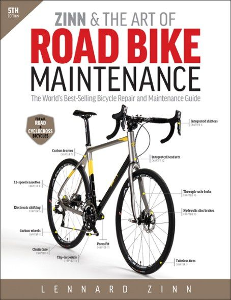 Velo Press Zinn & the Art of Road Bike Maintenance