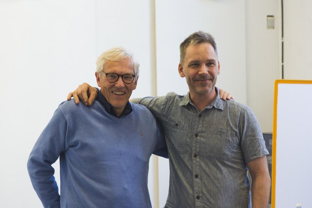 Hons von Holst and Peter Halldin