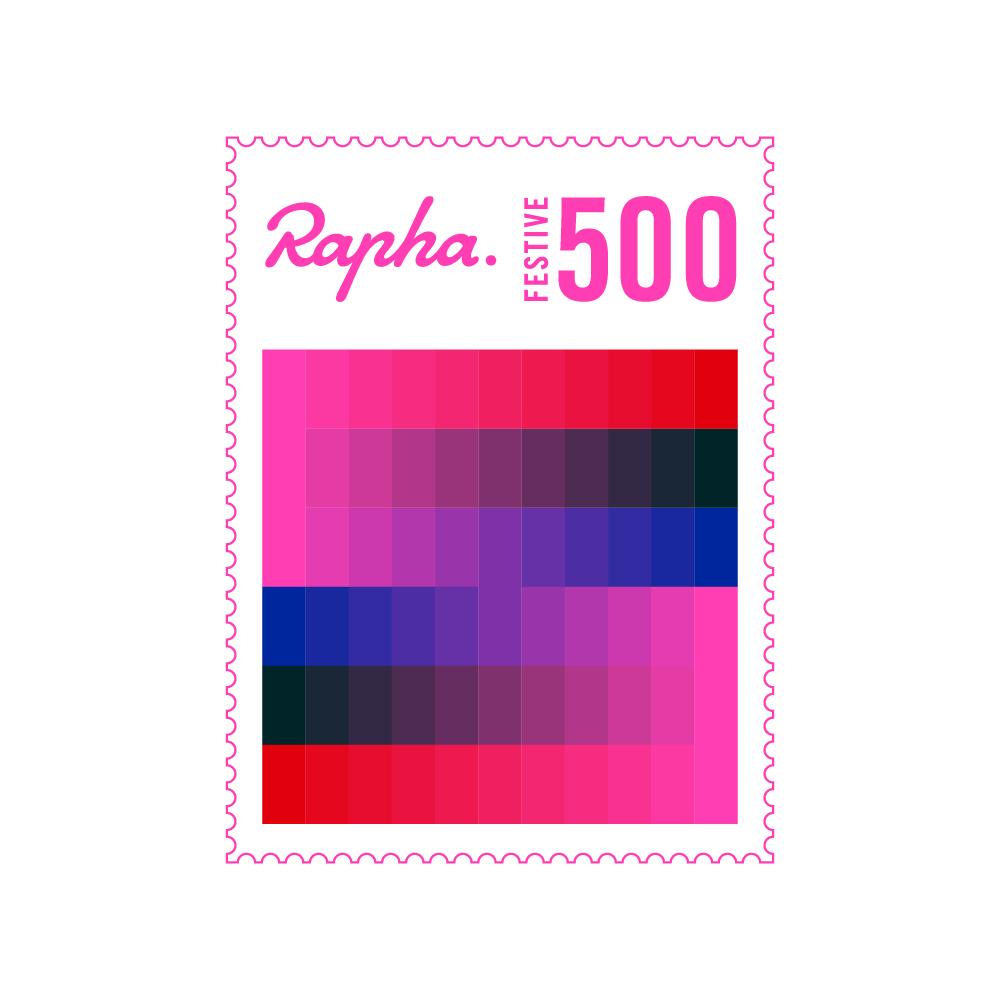 Rapha Festive 500 Badge