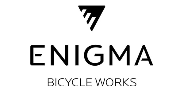enigma bicycle works logo
