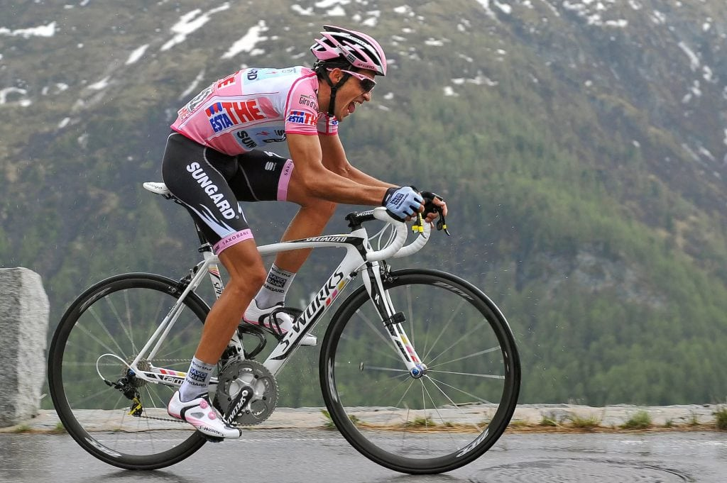 Alberto Contador in Saxobank