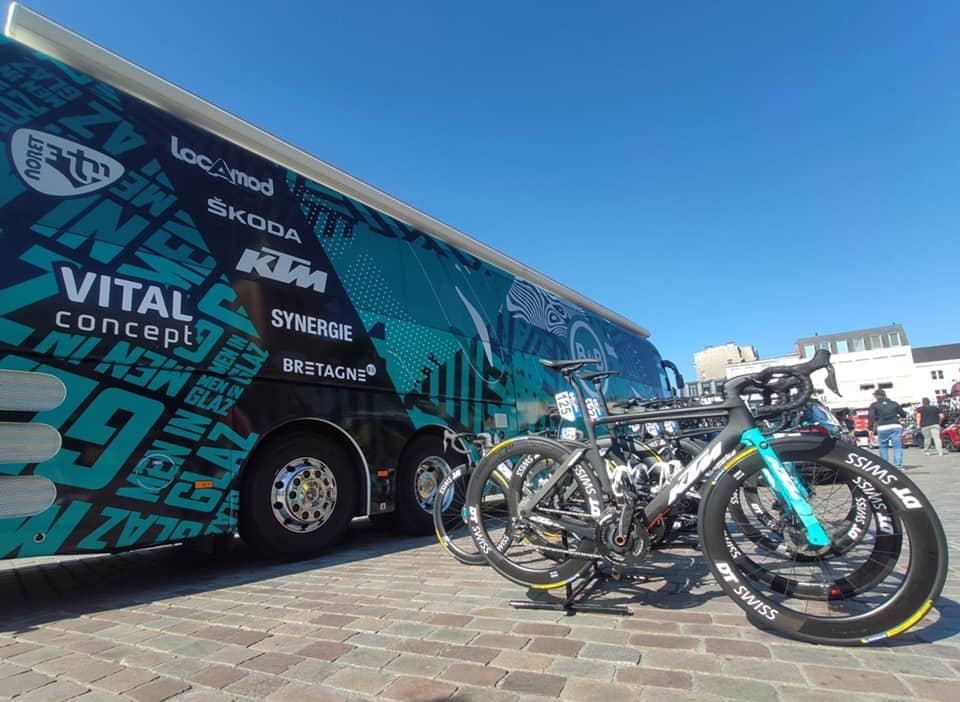 B&B Hotels p/bKTM Riders on DT Swiss Wheels