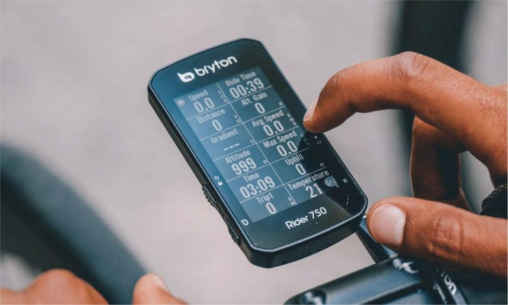 Bryton Rider 750 Bike Computer