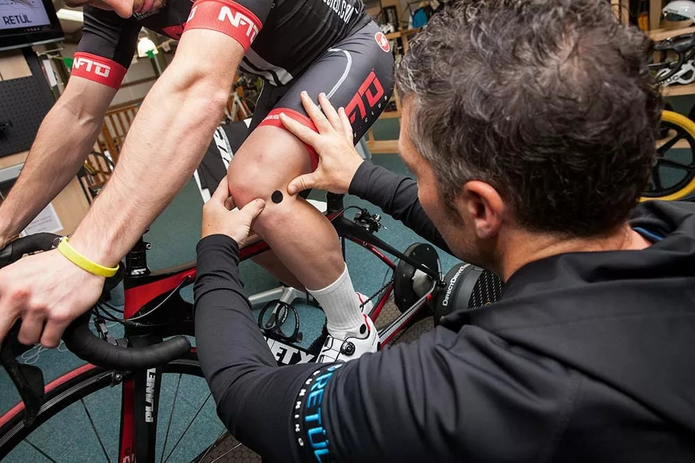 Cyclists with Knee Pain