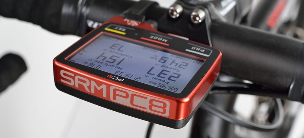 SRM PC8 Bike Computer