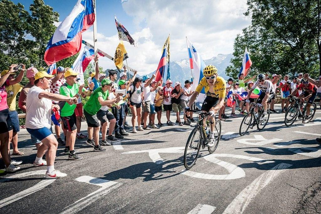 2018 Tour de France Chris Froome and Geraint Thomas