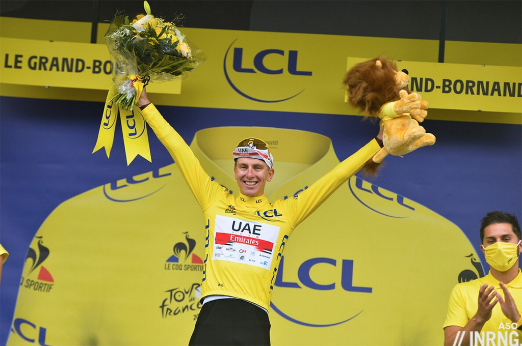 Tadej Pogacar Yellow Jersey