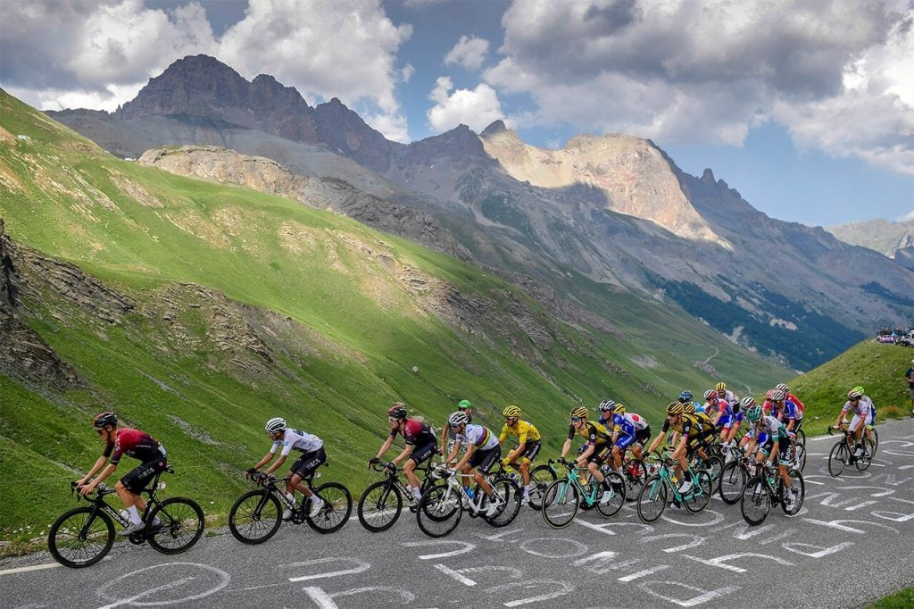 2019 Tour de France in the Alps
