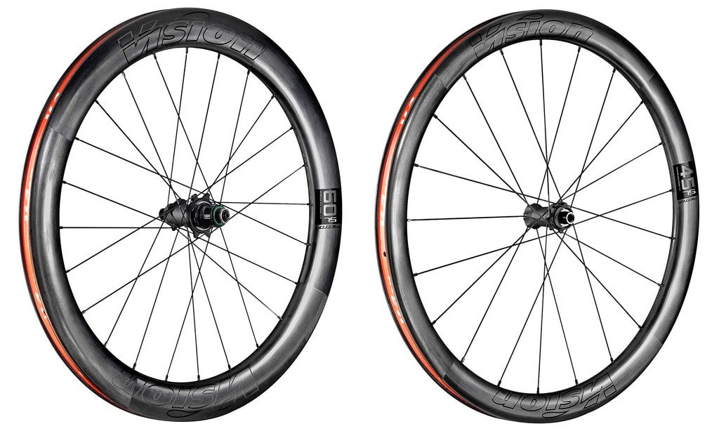 Vision Metron 45 SL and 60 SL Wheelsets