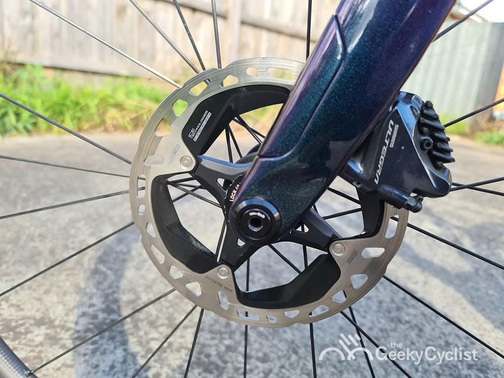 Shimano XTR MT900 Ice-Tech Centerlock Disc Rotor 160mm Weight